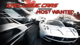 Экзклюзивные машины Most Wanted (2012) / All Exclusive Cars - Most Wanted (2012)