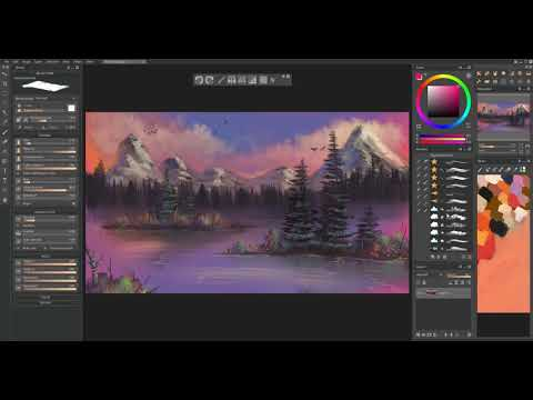 How to install digital Bob Ross brushes for Paintstorm