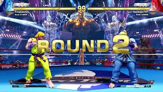 """STREET FIGHTER V_When it looks like you're gonna take a """"L"""""""