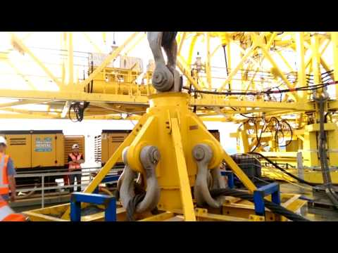 Offshore deployment and retrieval - 600t Internal Lift Tool (ILT)