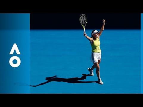 Jana Fett v Caroline Wozniacki match highlights (2R) | Australian Open 2018