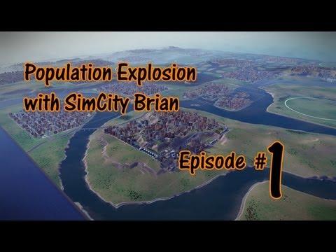 SimCity 1 Million Population Walkthrough - Episode #1