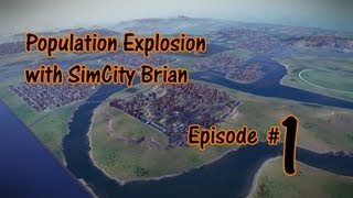 SimCity 1 Million Population Walkthrough - Episode #1