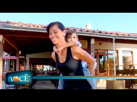 Por Você - Atividade Física com mãe e filho 07/05/16