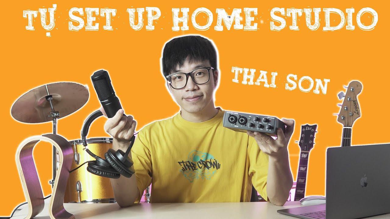 Tự Setup Bộ Thu Âm Tại Nhà Với Thái Sơn Beatbox