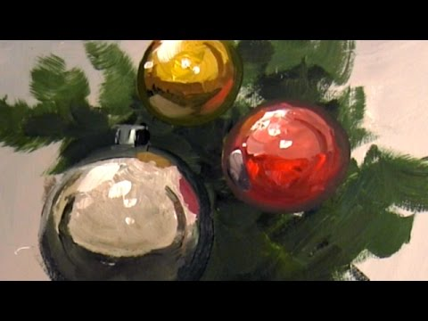 How To Paint Metallic Objects & Reflective Surfaces