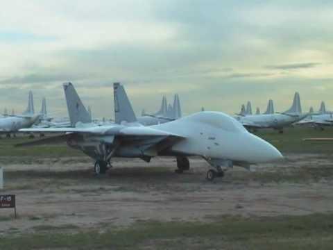 Davis-Monthan Aircraft Boneyard - Nov. 2001