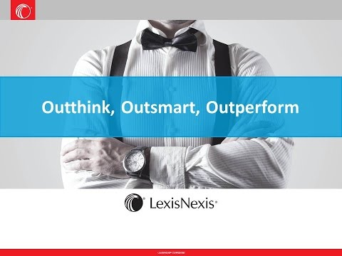 Outthink, Outsmart, Outperform with Competitive Intelligence