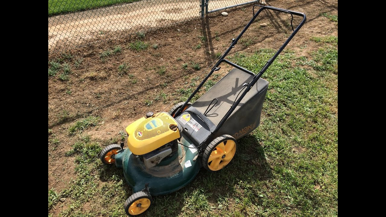 Yardman 21 Quot Lawn Mower Youtube