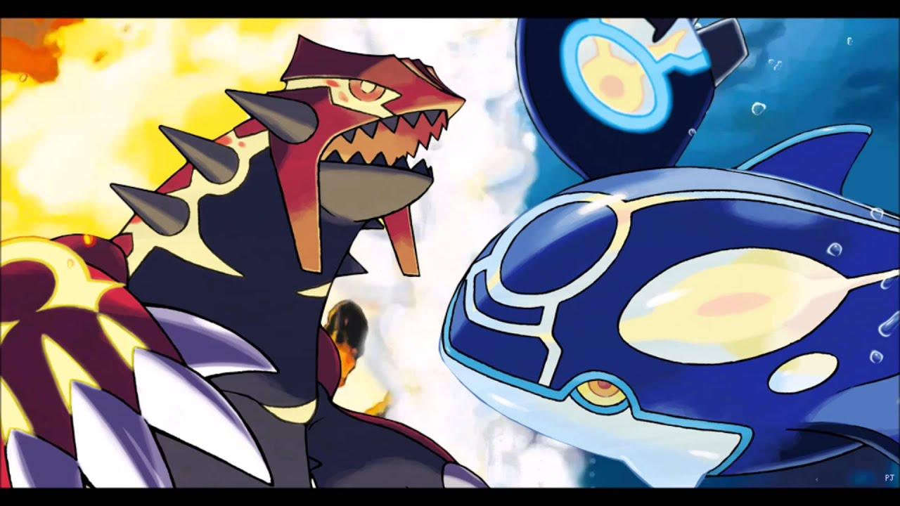 Primal Kyogre battle! vs primal groudon / primal kyogre! (fanmade) - youtube