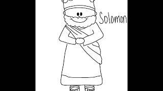 How To Draw Solomon