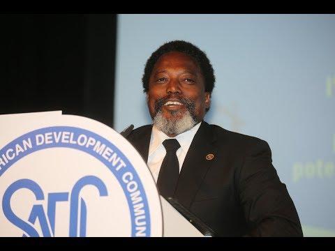 SADC:J Kabila en Namibie: Je ne vous dis pas au revoir. Je vous dis à bientôt...