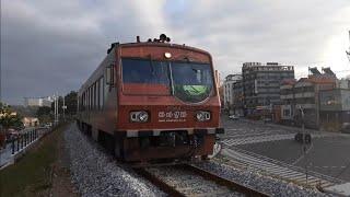 바다열차 추암역 진입