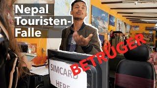 SIM KARTEN ABZOCKE in NEPAL - So viel solltest du wirklich bezahlen!