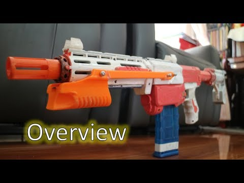 [Nerf Overview] Alpha Shine - Modded Nerf Retaliator | Nerf The Strongest