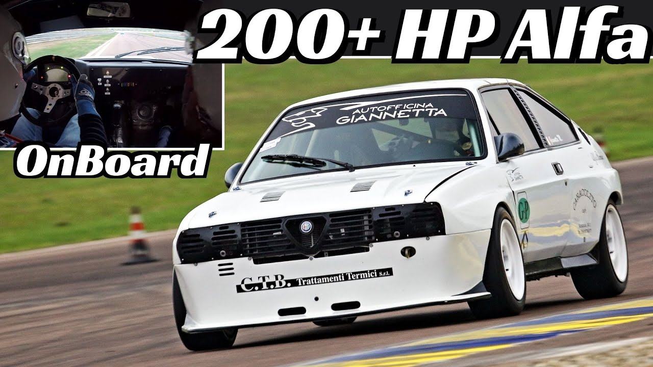 Alfa Romeo Alfasud Sprint Trofeo Europa by Autodelta + OnBoard - 8.500 rpm & 200+ Hp Boxer Engin