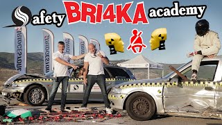 CRASH TEST|  Why seatbelt matters| Колани | Safety BRI4KA Academy | ENG SUB