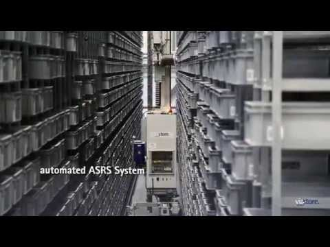 AS/RS to Automate Distribution Center Phoenix Contact USA