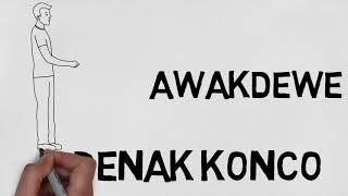 OM WAVES X GUYONWATON - PENAK KONCO (ANIMASI VIDEO LYRIC)