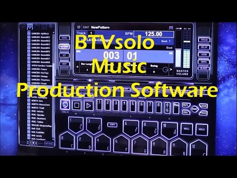 Get a peek inside BTVsolo -Award Winning Music Production Software