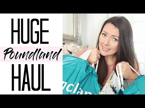 HUGE POUNDLAND HAUL | SEPTEMBER 2017