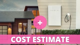 Tesla Solar Roof: Cost Estimate with Powerwall 2 and Electricity Costs Included