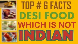 TOP 6 FACTS l INDIAN FOOD l Fact Tree