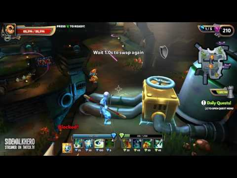Proton Beams - Dragonfall Sewers - Chaos 7 - Dungeon Defenders 2