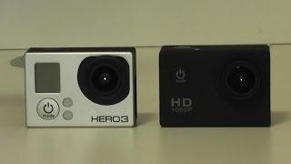 SJ4000 VS Go Pro Hero 3 - Action Cam Review