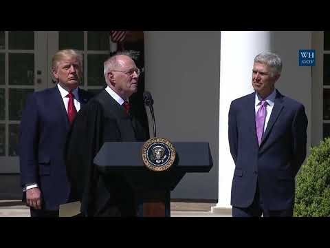 Neil M. Gorsuch Sworn In As 113th Supreme Court Justice