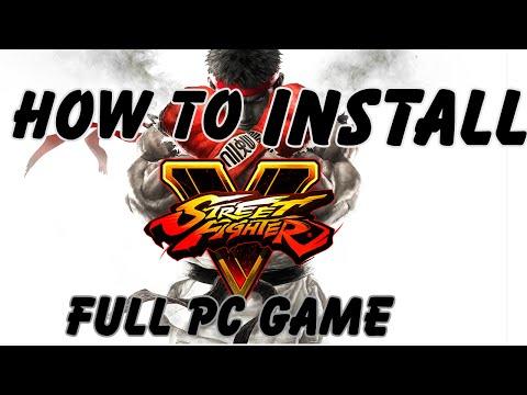 How to install Street Fighter V Full PC Game