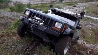 Jeep CHEROKEE 4.0 _ Mitsubishi L200 _ Defender 90 OFF ROAD@turkey