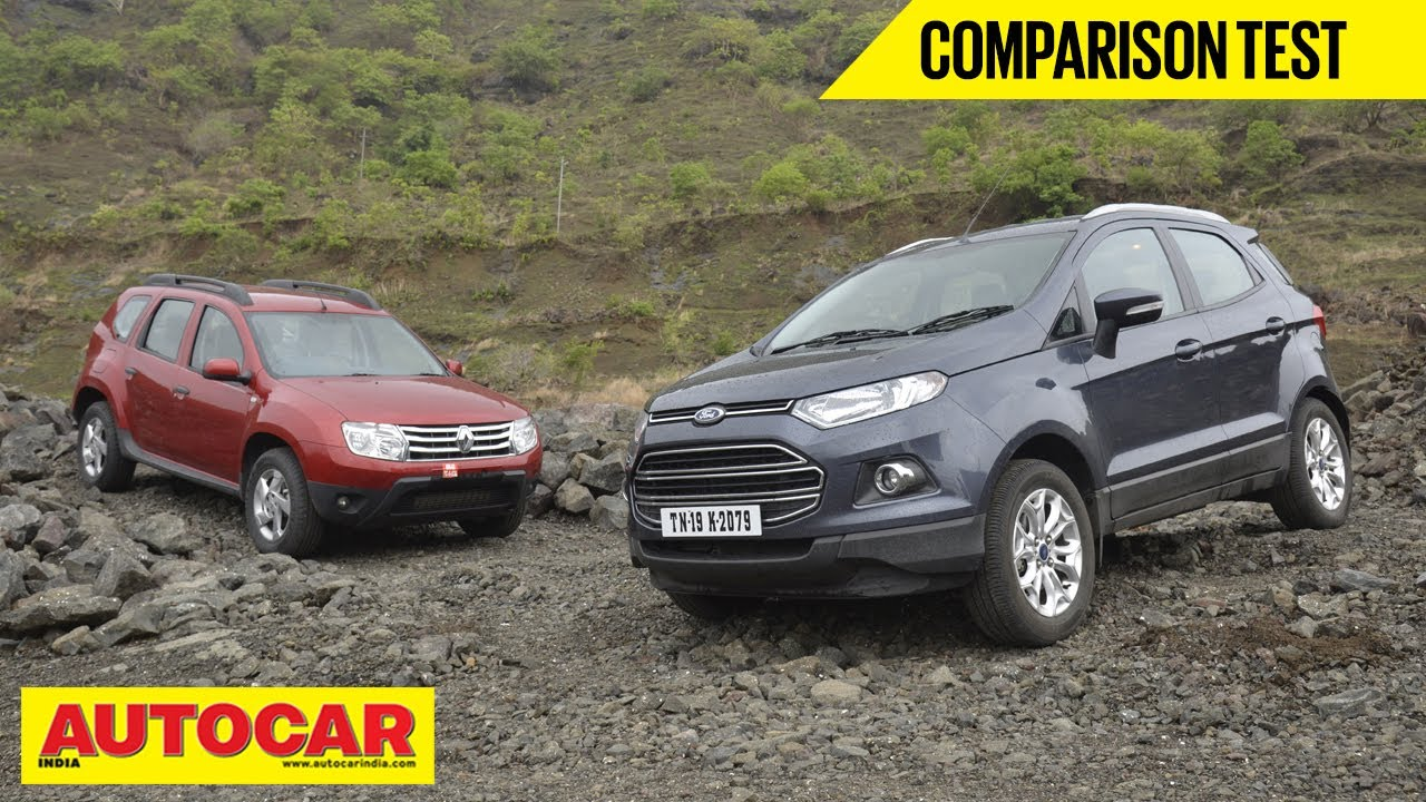 ford ecosport vs renault duster comparison test