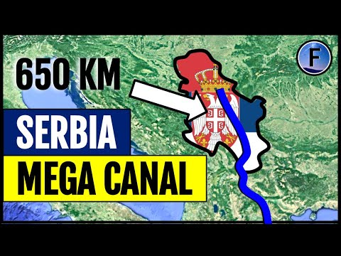 Serbia's Plans for a Canal to The Mediterranean