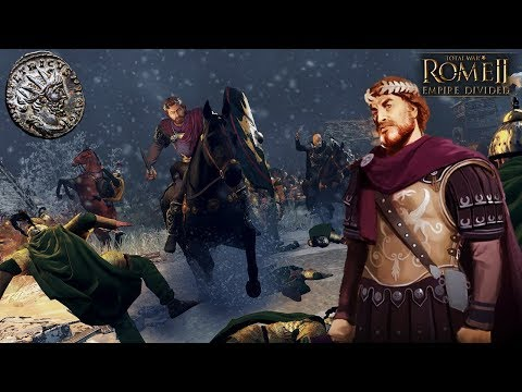 THE RISE OF GALLIC ROME! - Empire Divided Campaign DLC Gameplay - Total War Rome 2