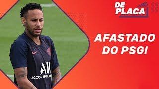 Neymar afastado no PSG e Daniel Alves pronto para a estreia no São Paulo | De Placa (15/08/2019)