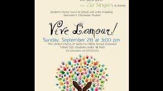Part 2 Santa Fe Mens Camerata Concert Sept. 28, 2014