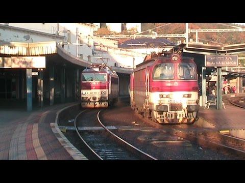Bratislava, Treni, Stazioni, Tram Tatra e Skoda, la città