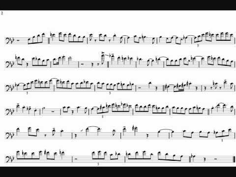 Carl Fontana 'Shoutin On A Riff' Trombone Solo Transcription