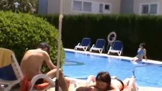 Mallorca Alcudia Hotel allsun Estrella & Coral de Mar - Pool im Hotel Coral de Mar