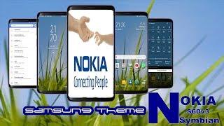Nokia symbian s60v3 theme for samsung galaxy