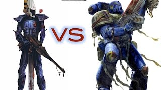 Eldar Vs space marine! Rapport de bataille warhammer 40000(, 2015-05-09T10:20:44.000Z)