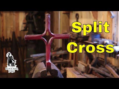Blacksmiths split cross or Friedrichs cross
