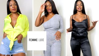 SOPHISTICATED SEXY FEMME LUXE TRY ON CLOTHING HAUL