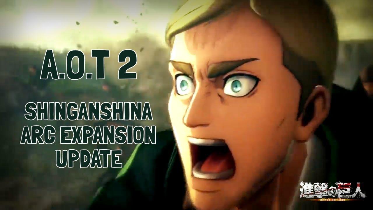 Attack on Titan 2 - New Shiganshina Arc - Game Expansion (Final Battle) - YouTube