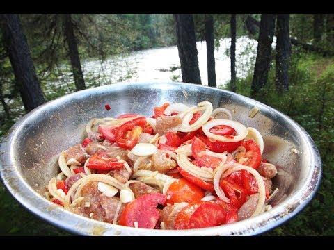 Маринованная рыба с овощами в соевом соусе