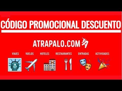 ATRAPALO.COM ✈️🌏 Código promocional descuento GRATIS ✅👍