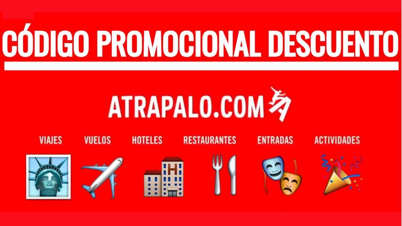 25a254b195e9 Código promocional Atrapalo.com - Descuento en hoteles y vuelos Atrapalo