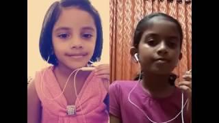 Minungum minnaminunge || smule || ¤¤ NehaMariamAlex + RaheeshaJaneebM ¤¤