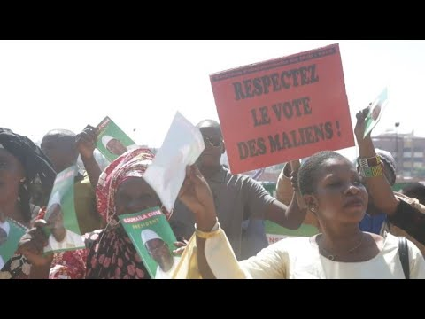 Soumaila Cisse supporters reject Malian election results